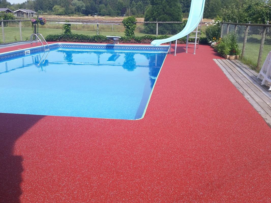 R paration et rev tement de trottoir et contour de piscine - Reparation piscine laval ...
